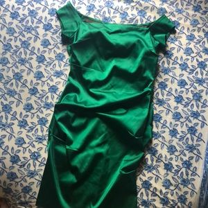 Betsy and Adam Silk Dress size 12 (fits like 6/8)